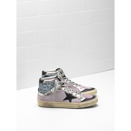 Men/Women Golden Goose 2.12 Calf Suede Upper Star In Leather sneaker