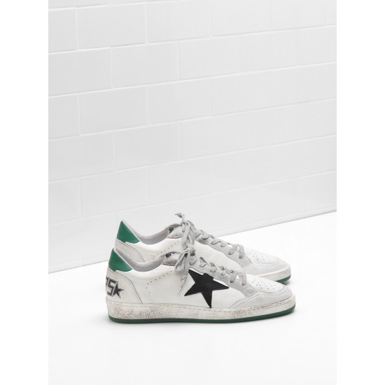 Men/Women Golden Goose ball star in calf leather nabuk star suede sneaker
