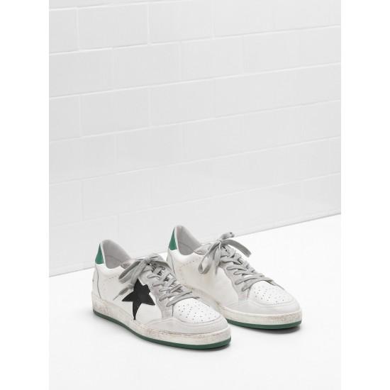 Men/Women Golden Goose ball star in calf leather nabuk star suede sneaker