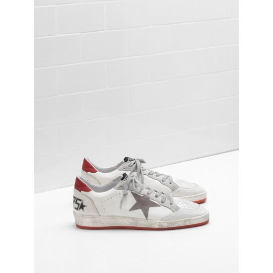 Men/Women Golden Goose ball star in calf leather suede star sneaker