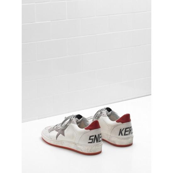 Men/Women Golden Goose ball star in calf leather suede star sneaker