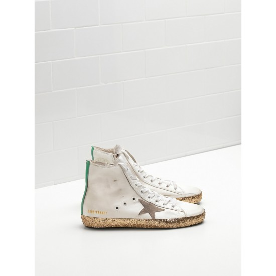 Men/Women Golden Goose francy golden star in golden star logo sneaker