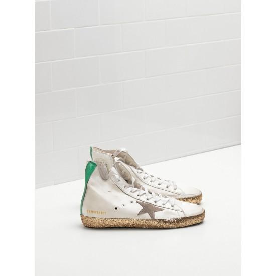 Men/Women Golden Goose francy golden star in golden star logo sneaker