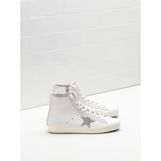 Men/Women Golden Goose francy limited edition with swarovski crystal sneaker