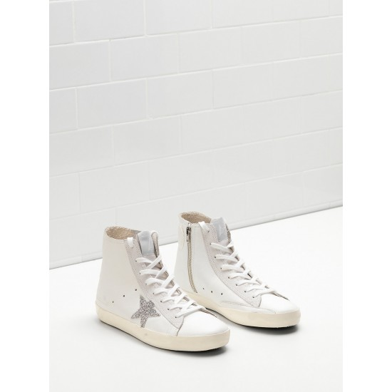 Men/Women Golden Goose francy limited edition with swarovski crystal sneaker