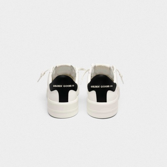 Men/Women Golden Goose purestar with black sneaker