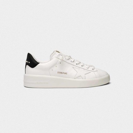 Men/Women Golden Goose purestar with black sneaker
