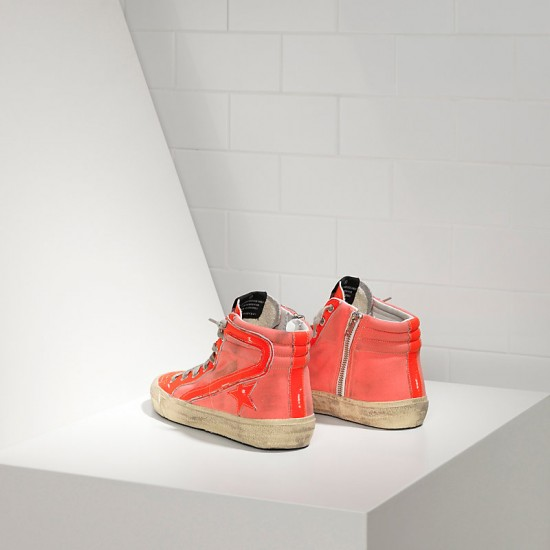 Men/Women Golden Goose slide archive in orange sneaker