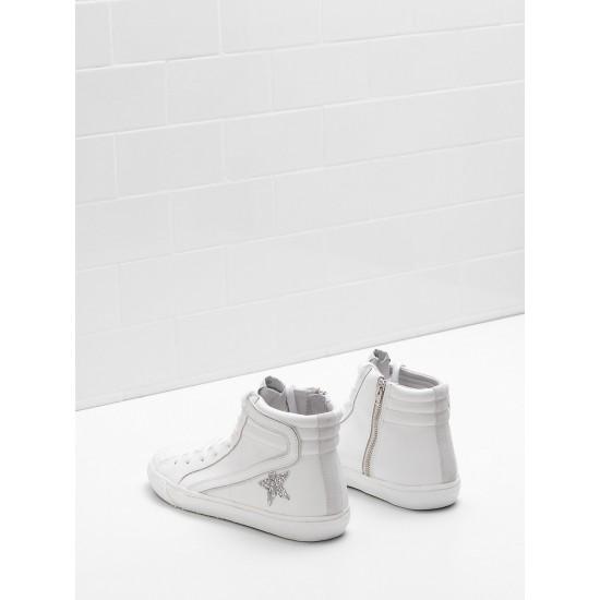 Men/Women Golden Goose slide limited edition with swarovski crystal sneaker