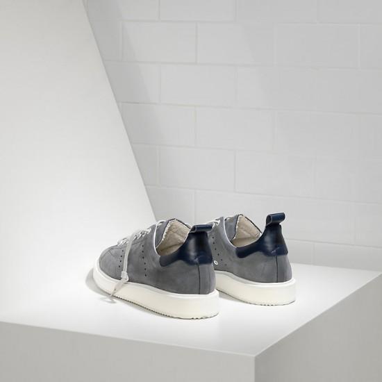 Men Golden Goose starter in dark grey sneaker