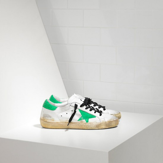 Men/Women Golden Goose superstar traforata white skate paint sneaker