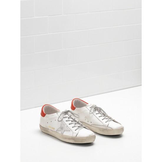 Men/Women Golden Goose superstar leather star in rubber sole sneaker