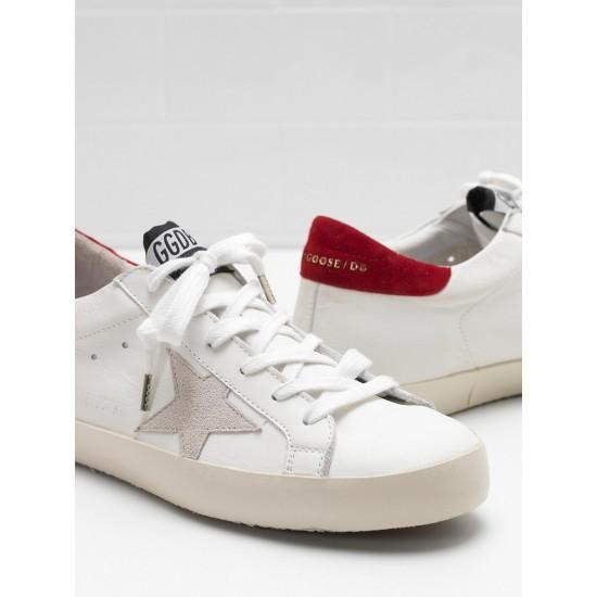 Men/Women Golden Goose superstar leather star in white sneaker