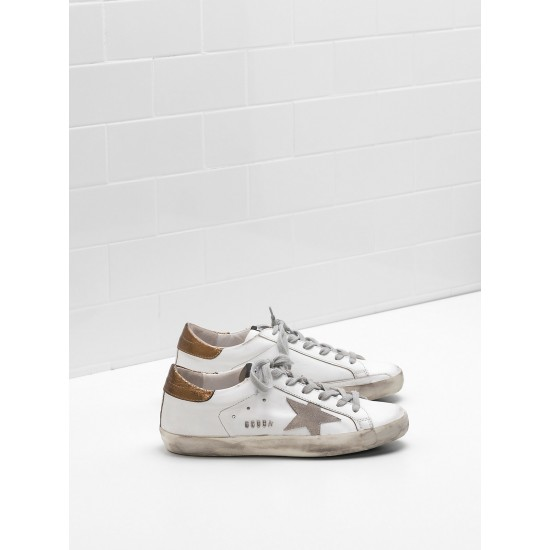 Men/Women Golden Goose superstar leather suede star in laminated sneaker