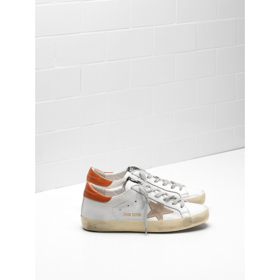 Men/Women Golden Goose superstar suede star leather chestnut star sneaker