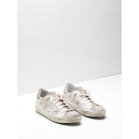 Men/Women Golden Goose superstar skin leather coated in silk sneaker