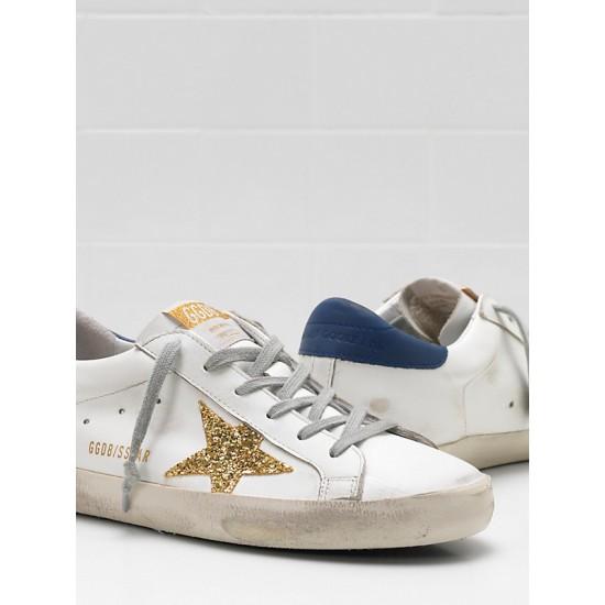 Men/Women Golden Goose superstar upper glitter coated star leather sneaker