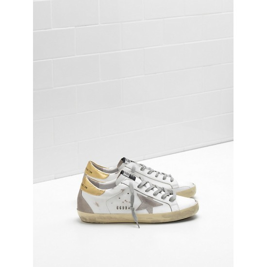 Men/Women Golden Goose superstar upper suede star embossed logo lettering sneaker