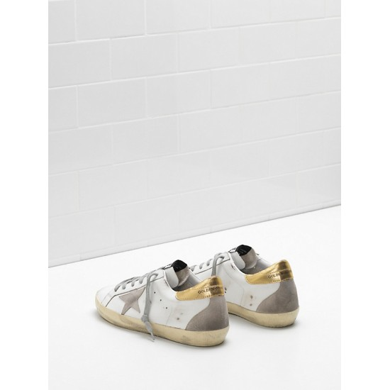 Men/Women Golden Goose superstar upper suede star embossed logo lettering sneaker